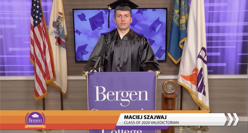 Virtual Commencement, Real Celebration for Bergen Grads